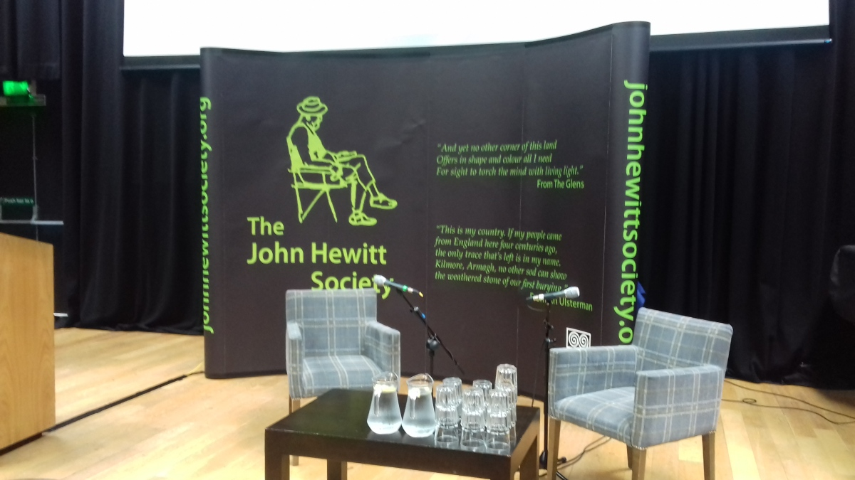 John Hewitt Society in Armagh, part1.